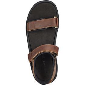 Timberland Roslindale 2-Strap Sandals Men Medium Brown Full-Grain